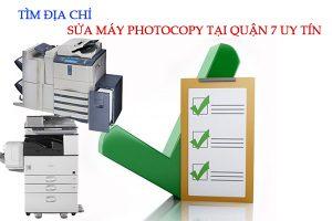 Tìm địa chỉ sửa máy photocopy quận 7 uy tín