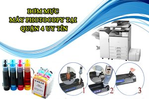 Bơm mực máy photocopy tại Quận 4 uy tín tại Công Ty Công Nghệ Nguồn Lực Xanh