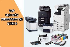 Công Ty TNHH Công Nghệ Nguồn Lực Xanh chuyên nạp mực máy photocopy tại Quận 3
