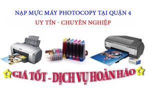 Công Ty TNHH Công Nghệ Nguồn Lực Xanh chuyên nhận nạp mực máy photocopy tại Quận 4