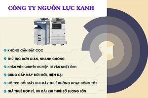 Công ty Nguồn Lực Xanh là địa chỉ cho thuê máy photocopy tại tphcm chất lượng