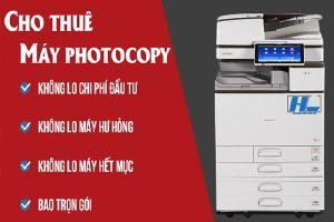 Nhiều lợi ích khi chọn dịch vụ cho thuê máy photocopy uy tín