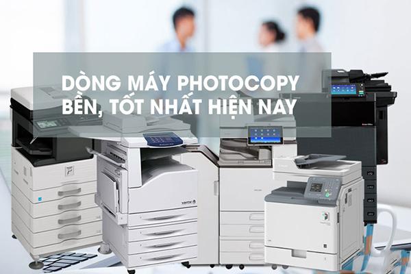Những dòng máy photocopy chất lượng, chính hãng tại Nguồn Lực Xanh