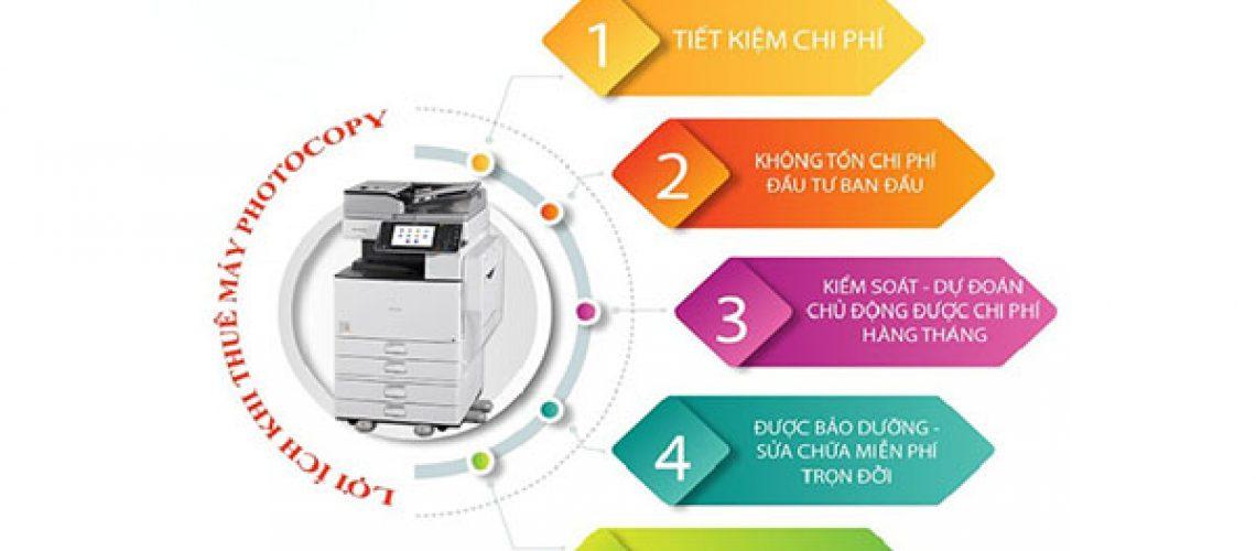Lợi ích khi sử dụng dịch vụ cho thuê máy photocopy Quận 2