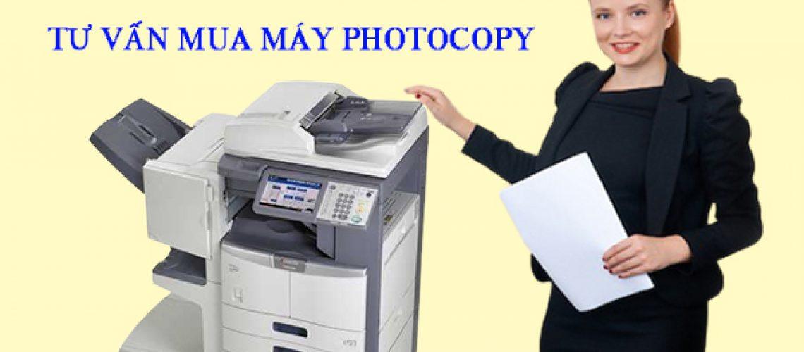 Tư vấn mua máy photocopy